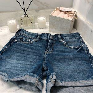 NWOT H&M Relaxed Denim Shorts